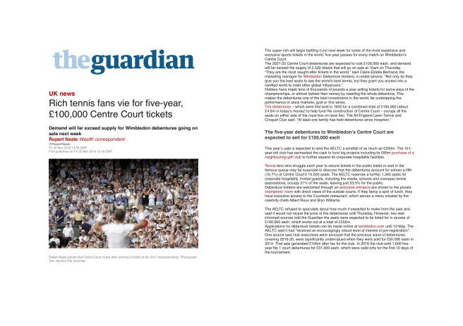 The Guardian 2pg